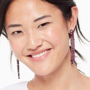 Kate ♠️ Spade Glitsville dangle earrings